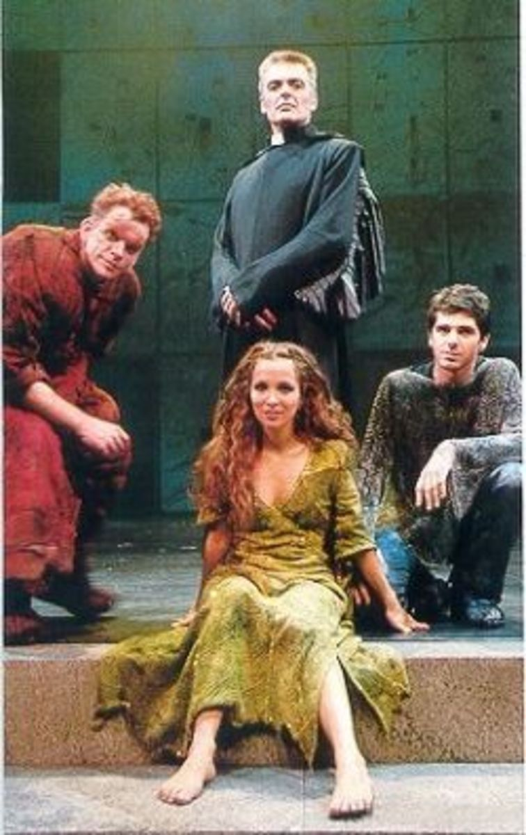 Garou, Daniel Lavoie, Patrick Fiori, and Helene Segara in Costume