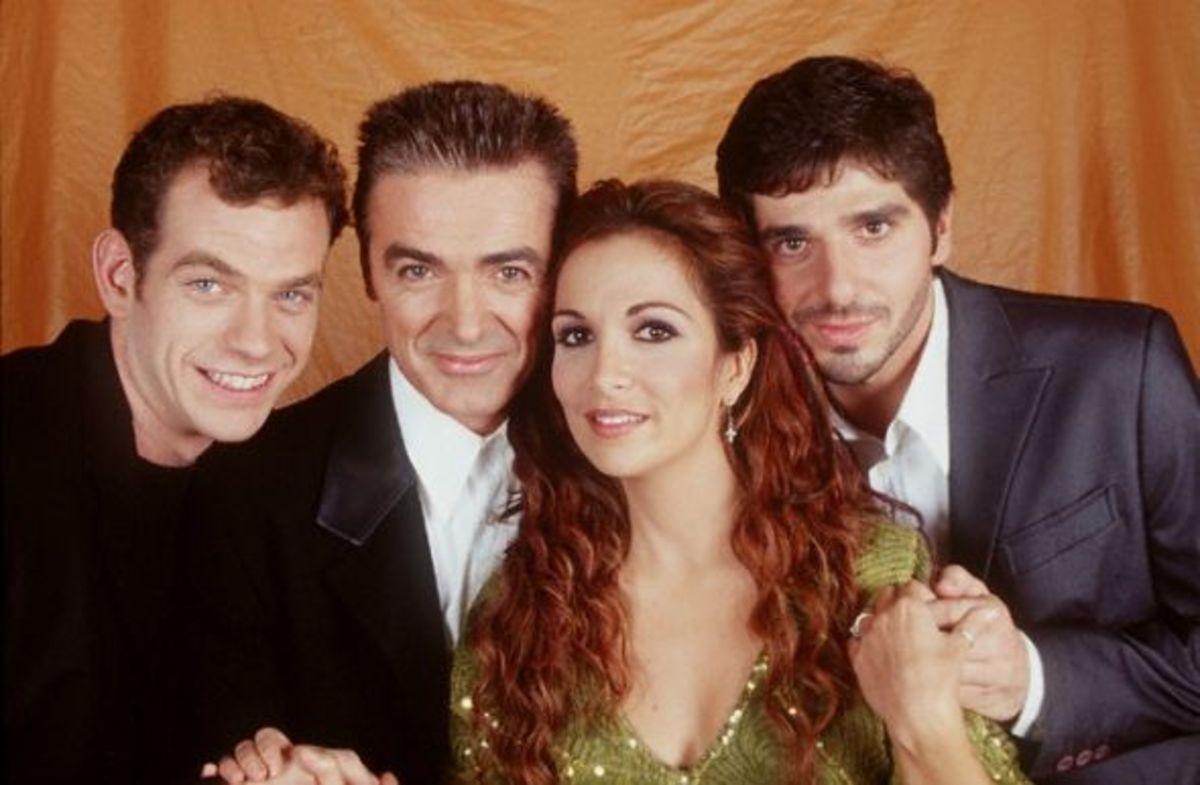 Garou, Daniel Lavoie, Helene Segara, and Patrick Fiori