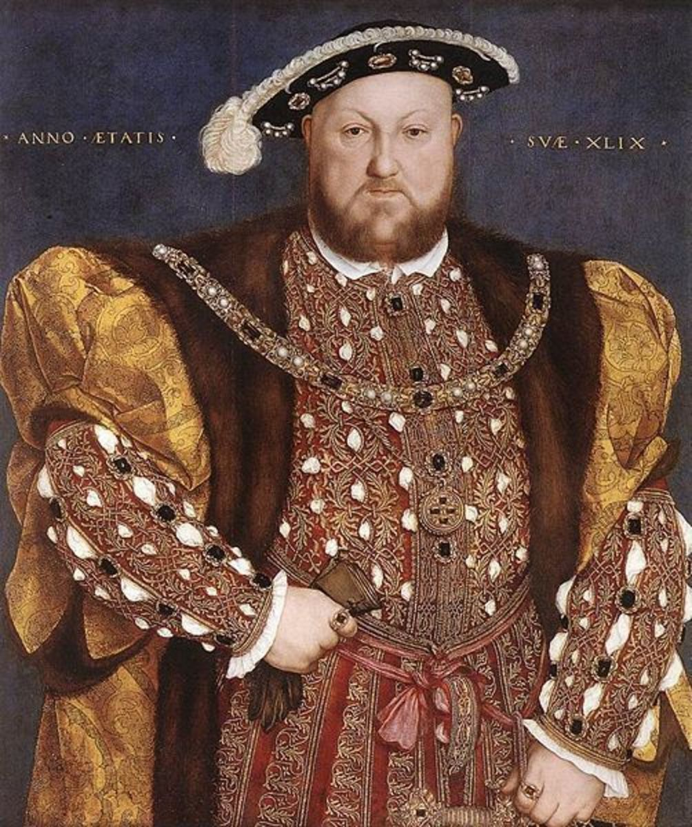 King Henry VIII and Buttons