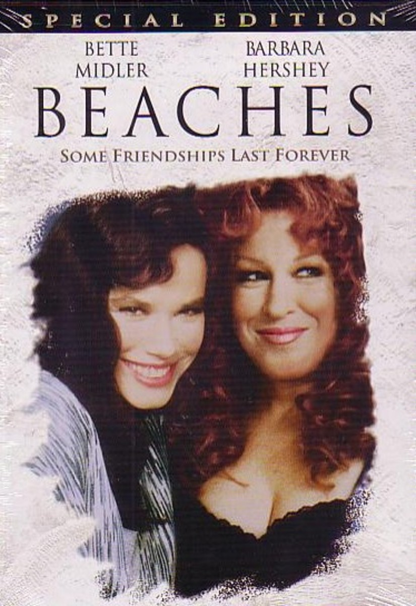"""Beaches"" a great movie about friendship - 2012 40th Birthday Gifts for Wife Mom Sister Girlfriend"