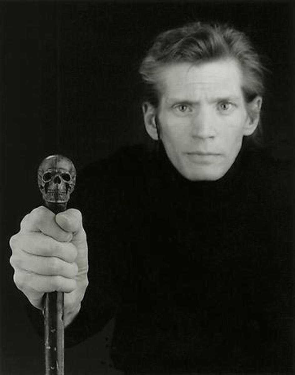 Self Portrait 1988- one year prior to his death