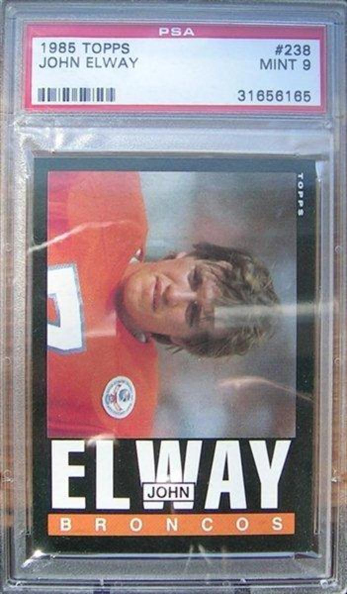 The Hardest John Elway Football Cards to Collect: 1984-1996