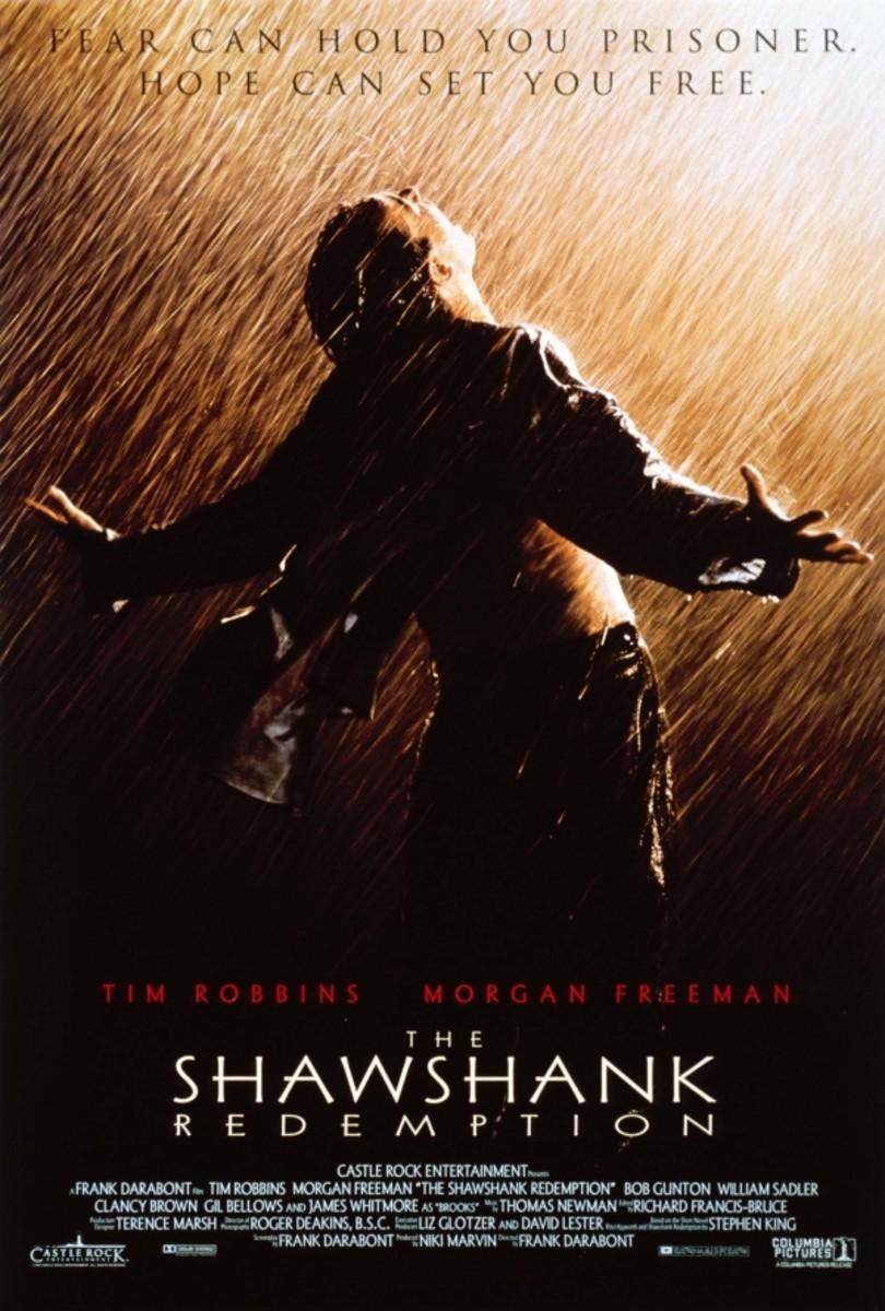Shawshank Redemption Poster (man standing in rain)