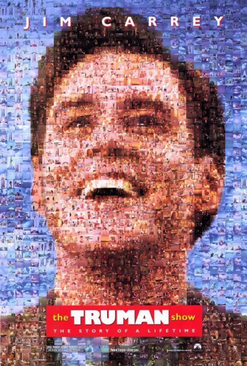 The Truman Show Poster (pictures within picture)
