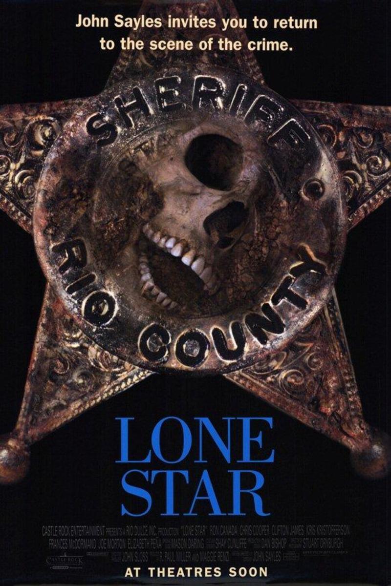 Lonestar Poster (skull in sheriff's badge)