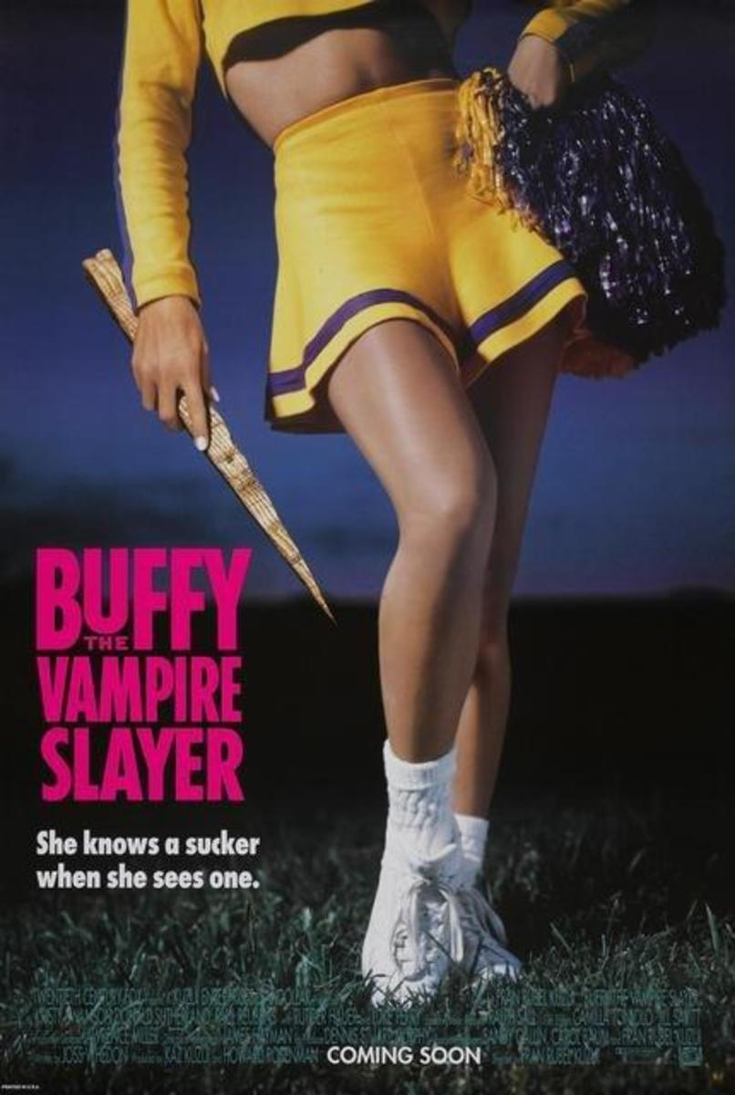 Buffy the Vampire Slayer Poster (girl with wooden stake)