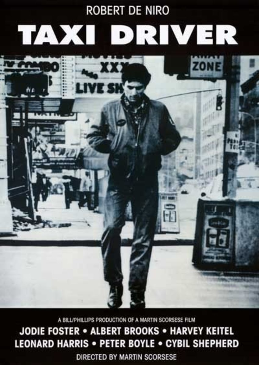 Taxi Driver Poster (man walking)
