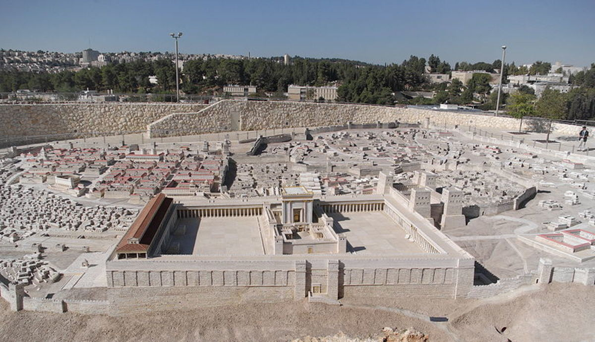 http://en.wikipedia.org/wiki/File:Jerusalem_Modell_BW_2.JPG
