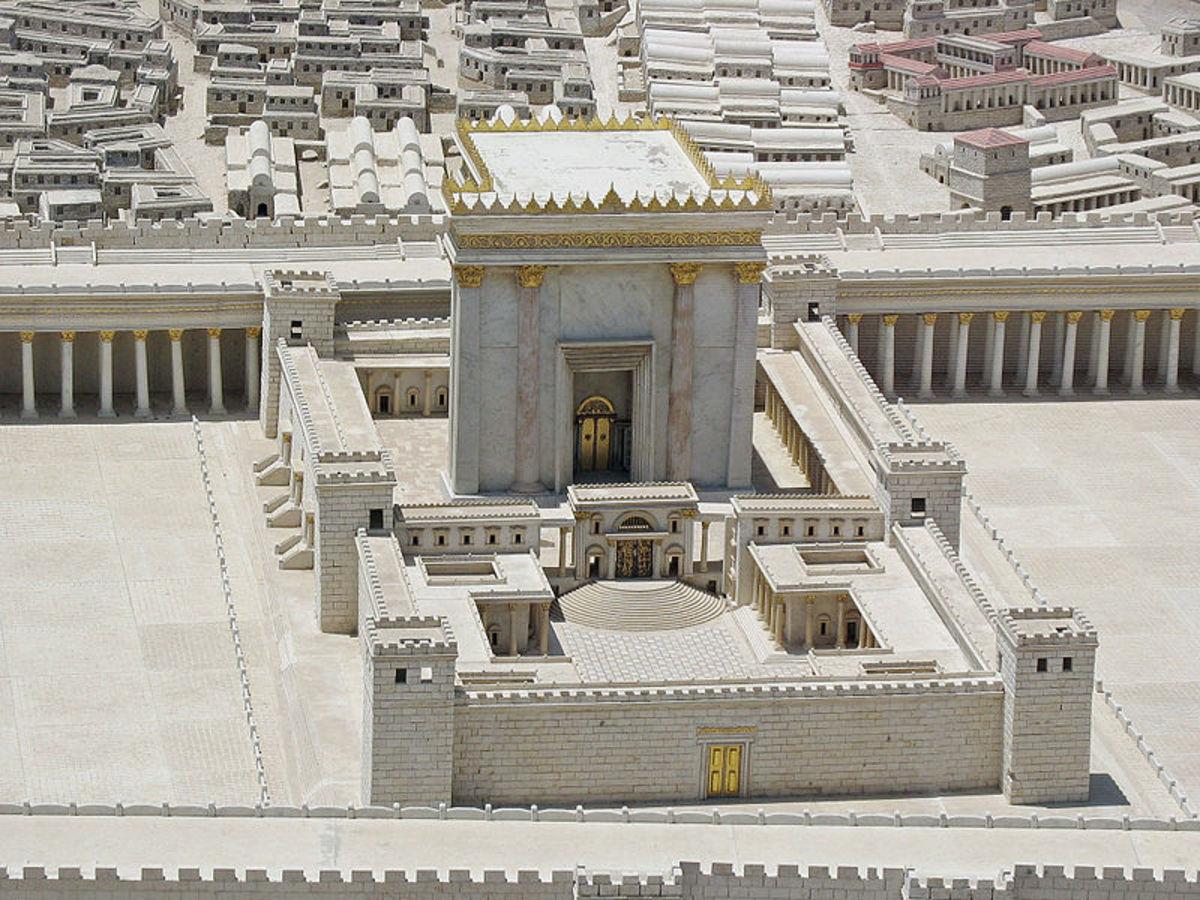 http://en.wikipedia.org/wiki/File:Second_Temple.jpg