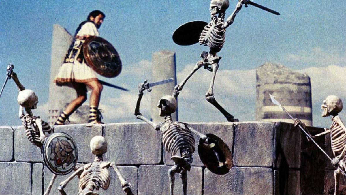 "Scene from ""Jason and the Argonauts"""