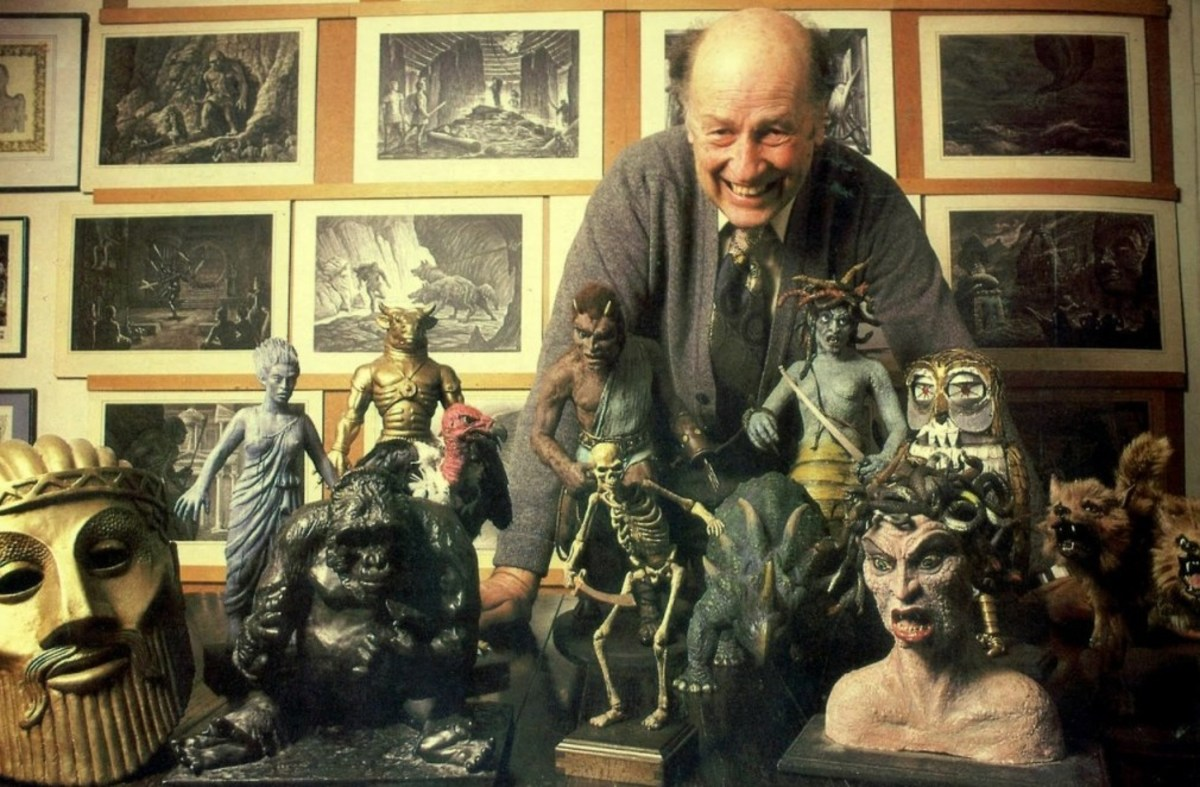 Ray Harryhausen and his monsters