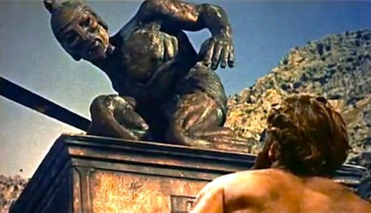 "Talos the bronze titan in ""Jason and the Argonauts"""