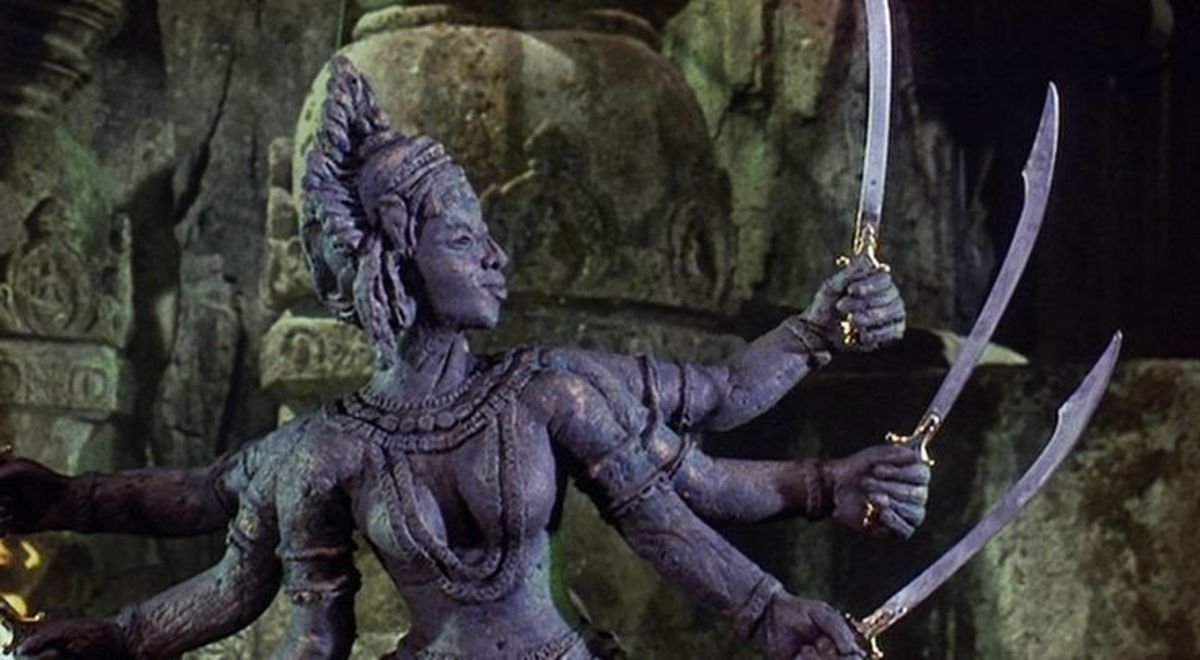 "Kali from the ""Golden Voyage of Sinbad"""