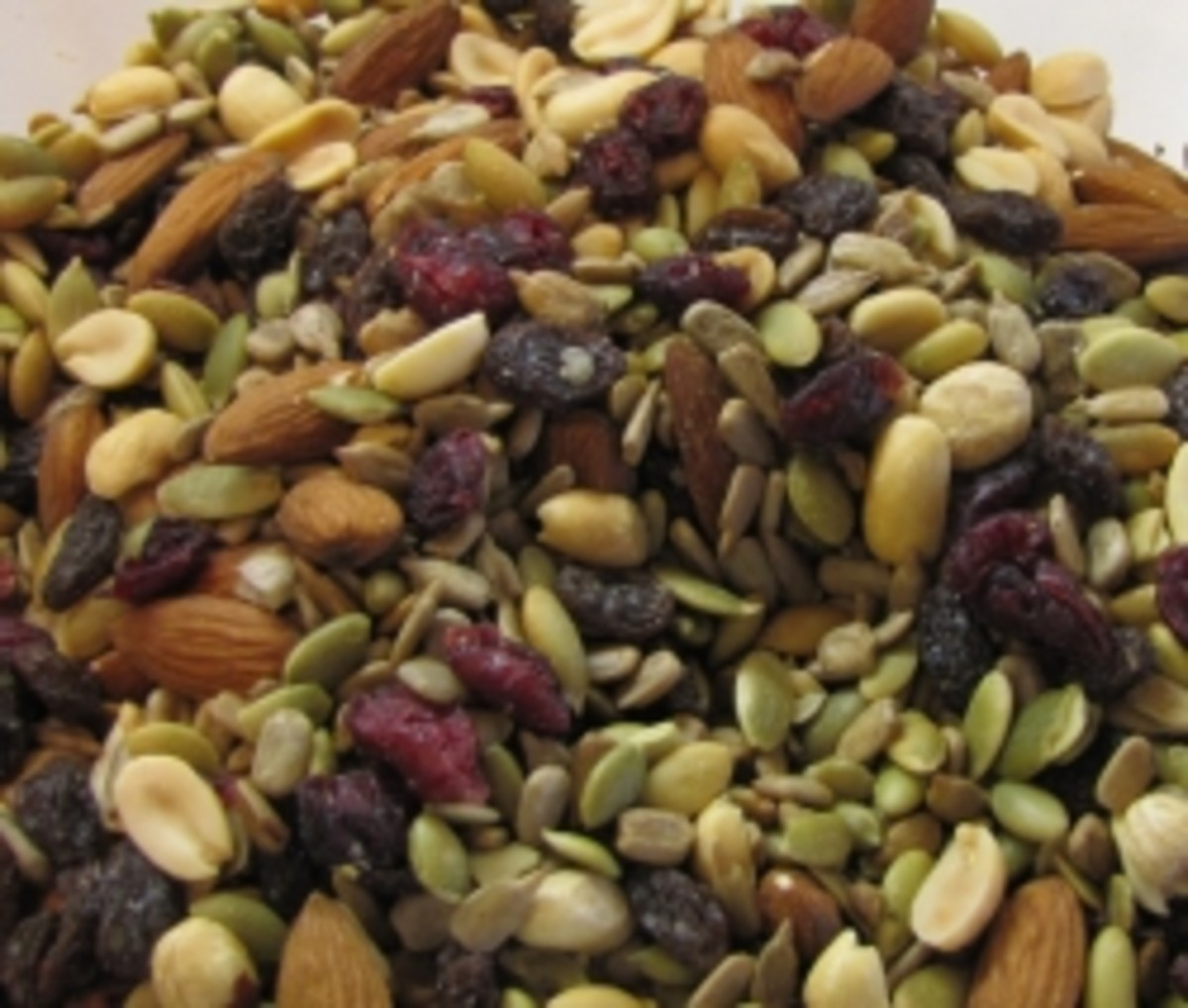 Make a Healthy Trail Mix of Seeds, Dried Fruits and Nuts