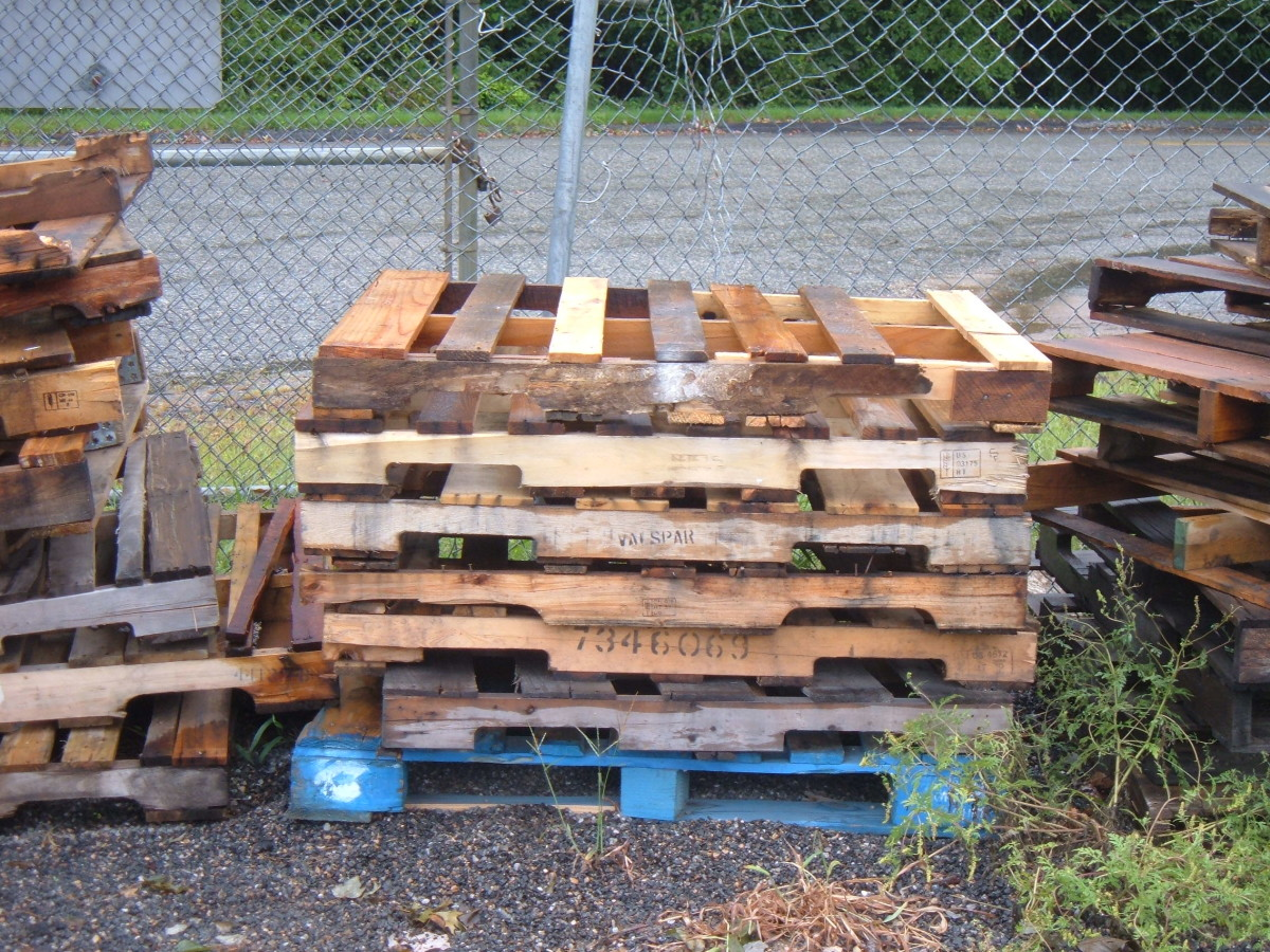 Making Scrap Wood Projects from Pallets, Reclaimed Wood and Salvaged Lumber