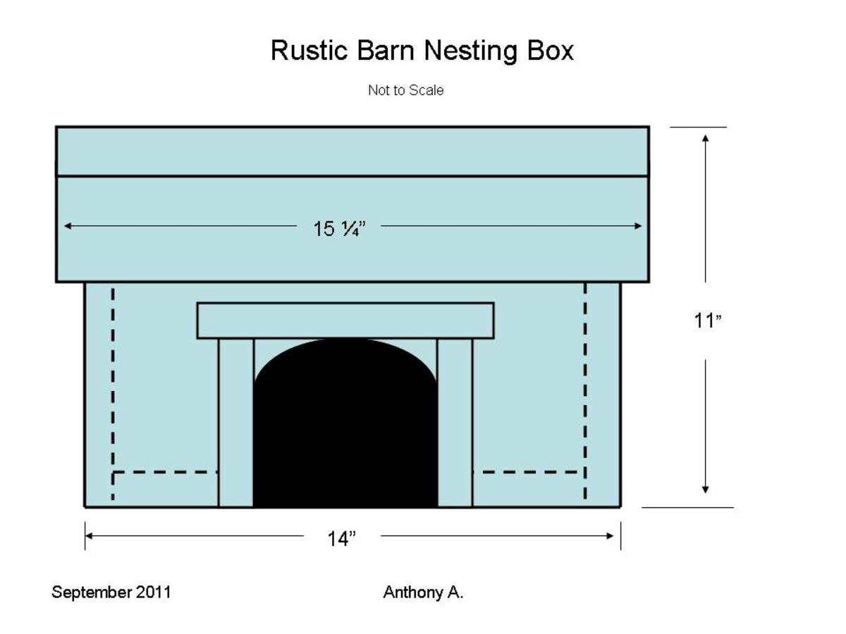 DIY Rustic Barn Nesting Shelf Plans