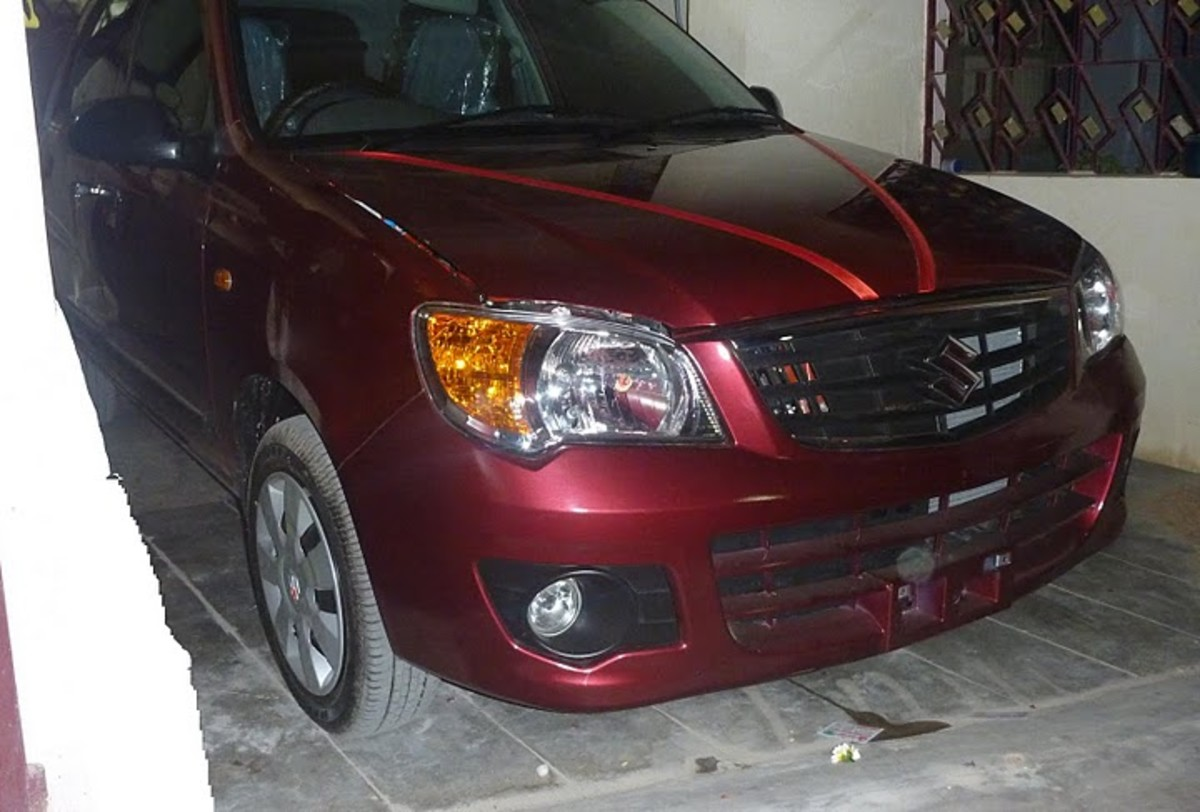Red Alto K10 directly from showroom