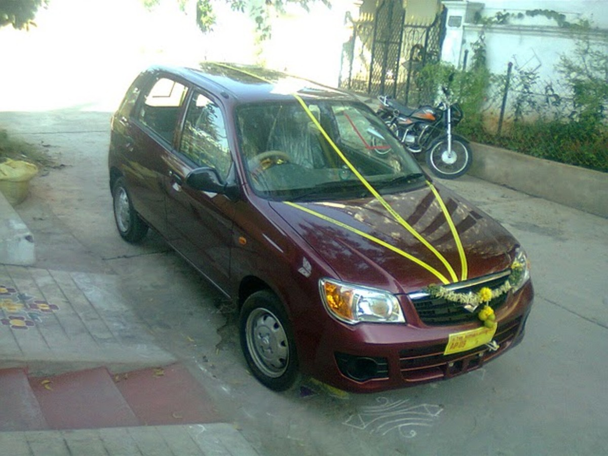 New Alto K10 first hand pic