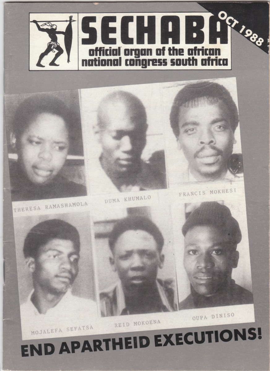 Those who gave their lives for the Poor and still suffering people of South Africa- They should not be forgotten, for their deeds and giving up their live for Freedom