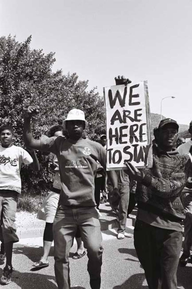 Real threat in Hangberg is marginalization of the most vulnerable in our society