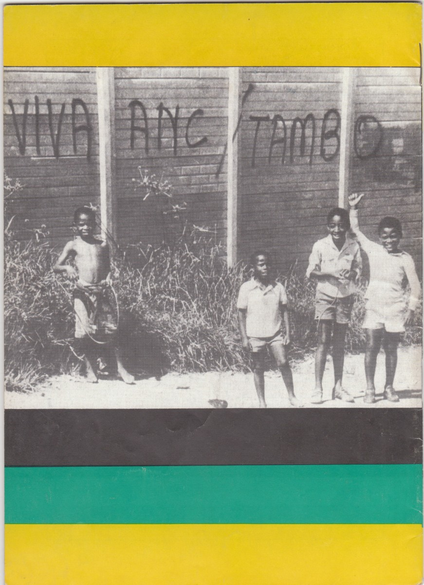 The Days of slogans, and pro-ANC Graffiti