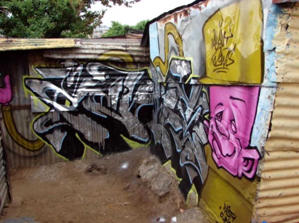Shantytown Color Graffiti