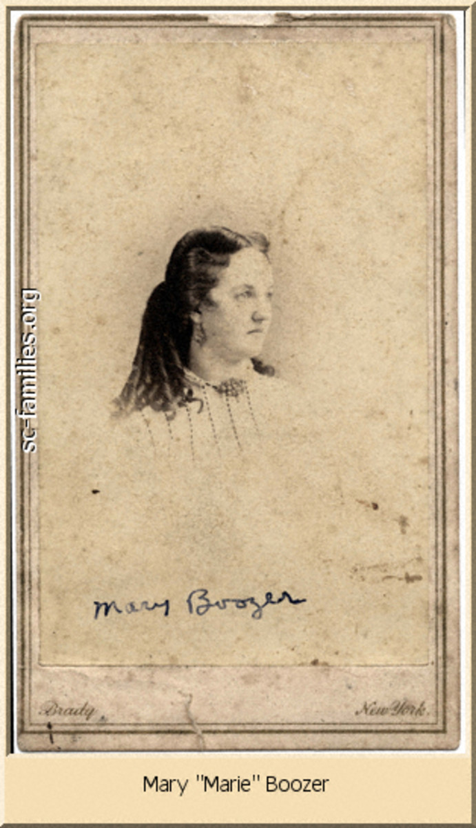 Marie Boozer: A Southern Belle's Civil War Tale