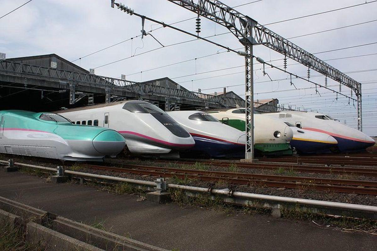 Shinkansen series: 200 - E5.