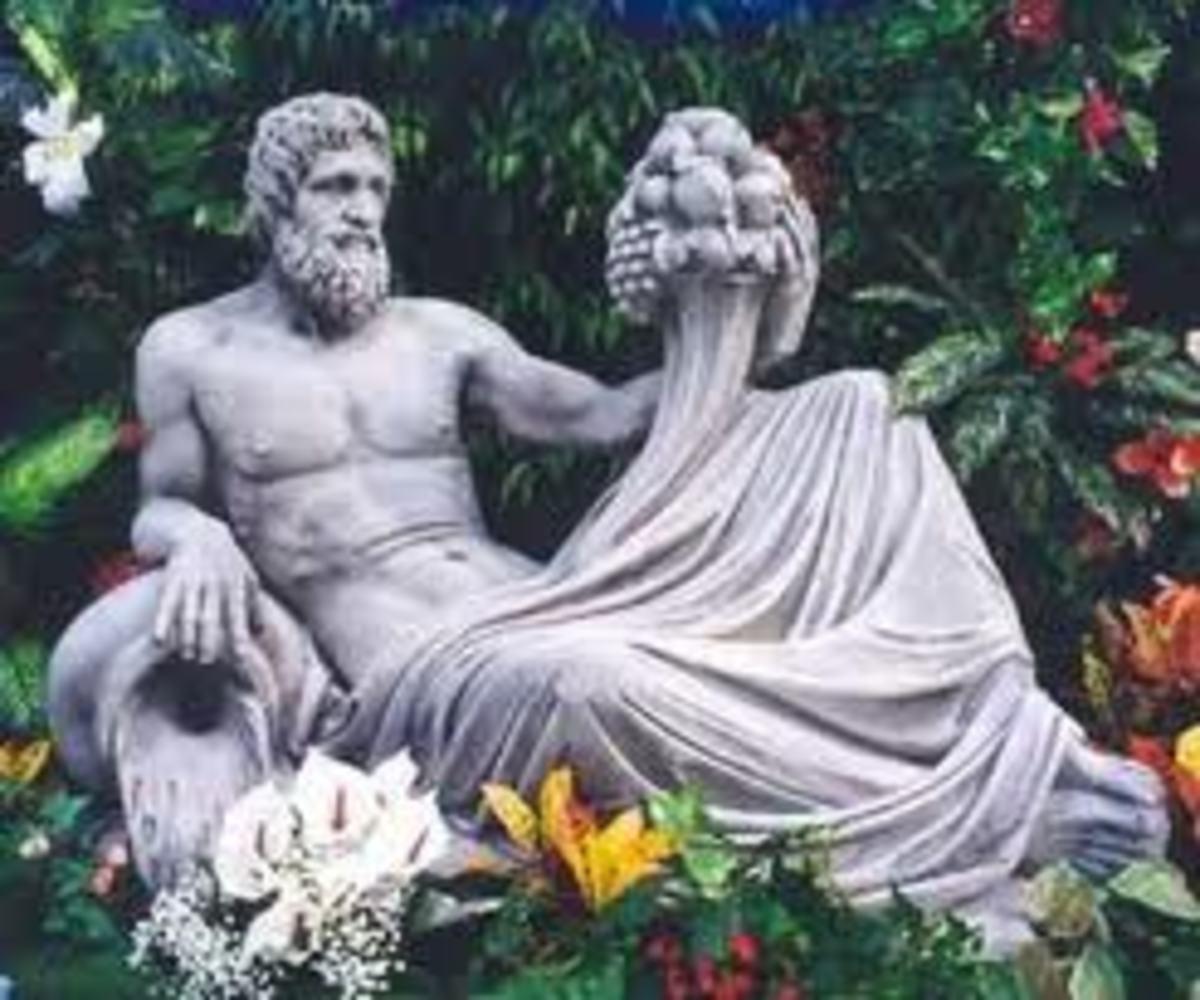 Из рук Диониса и Афродиты.