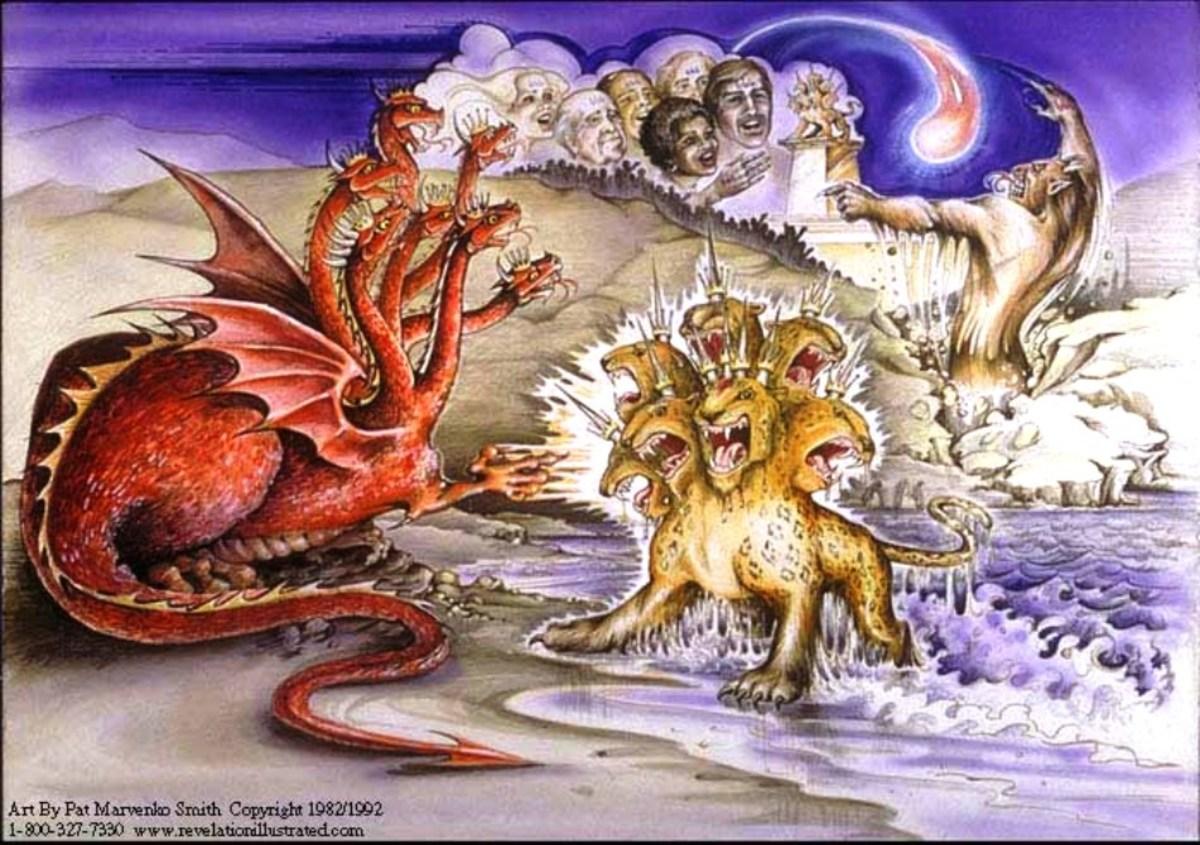 The unholy trinity, Satan, Antichrist, False Prophet.