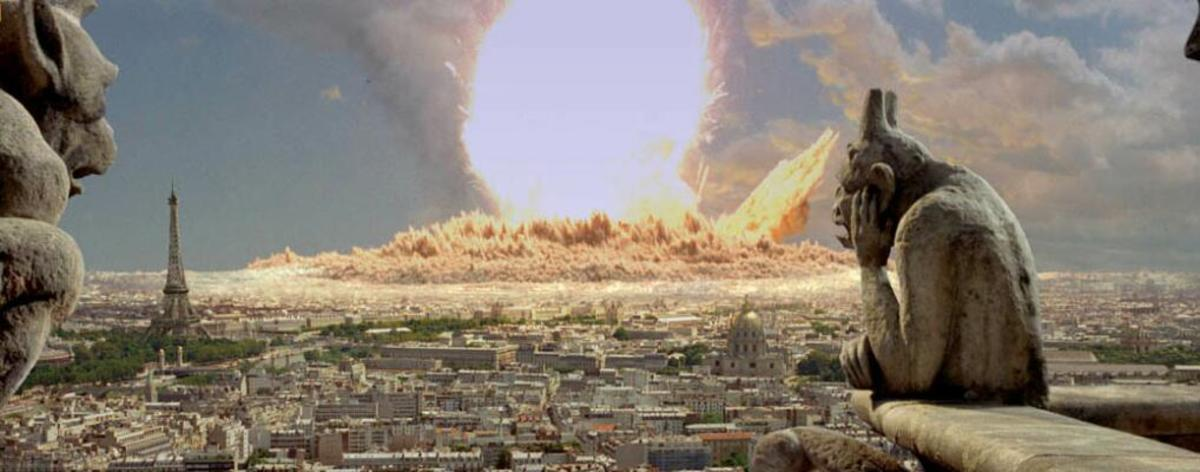 The entire area will be one massive concentration of destruction