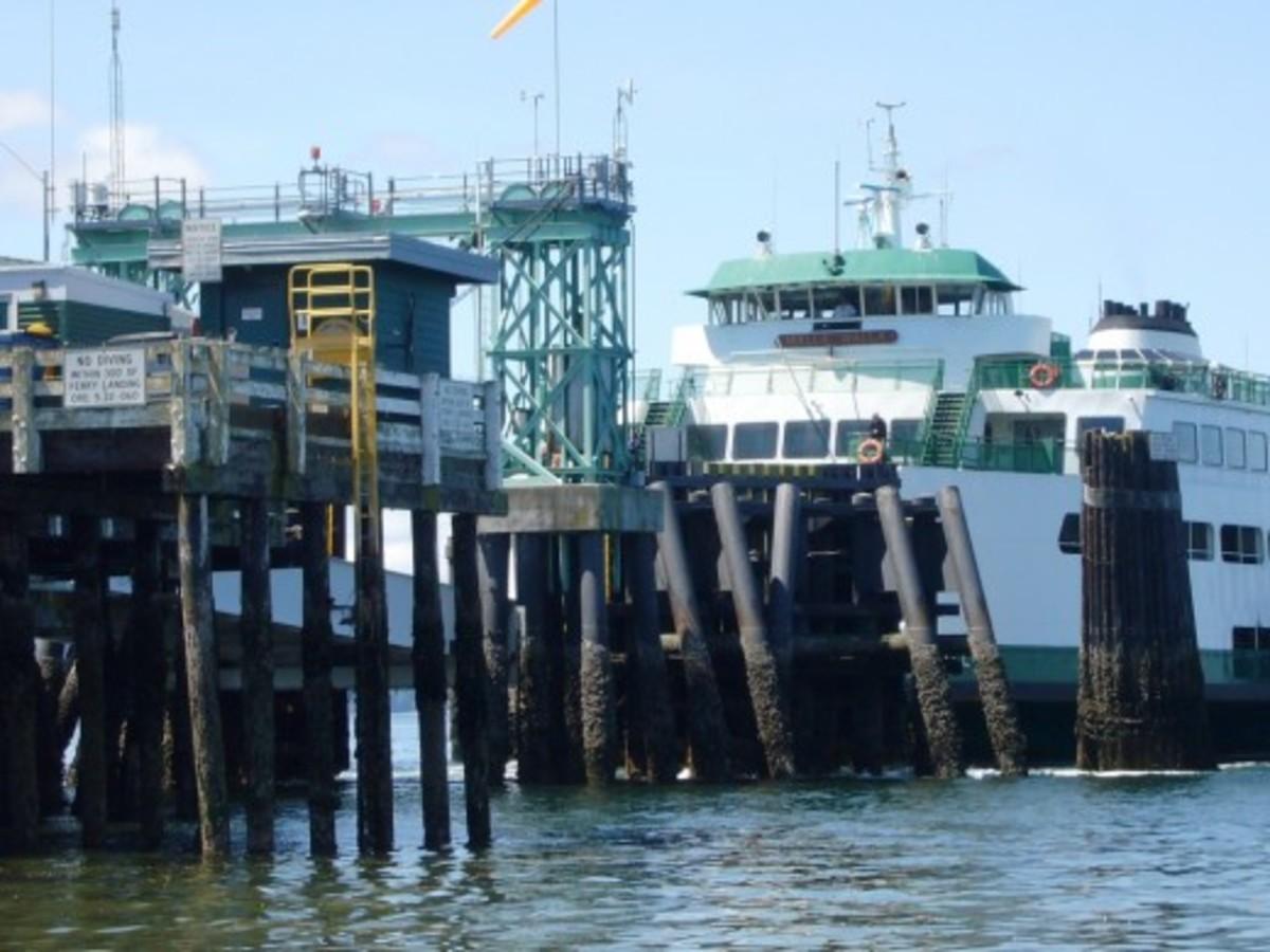 Washington State Ferry Terminal - Edmonds, WA