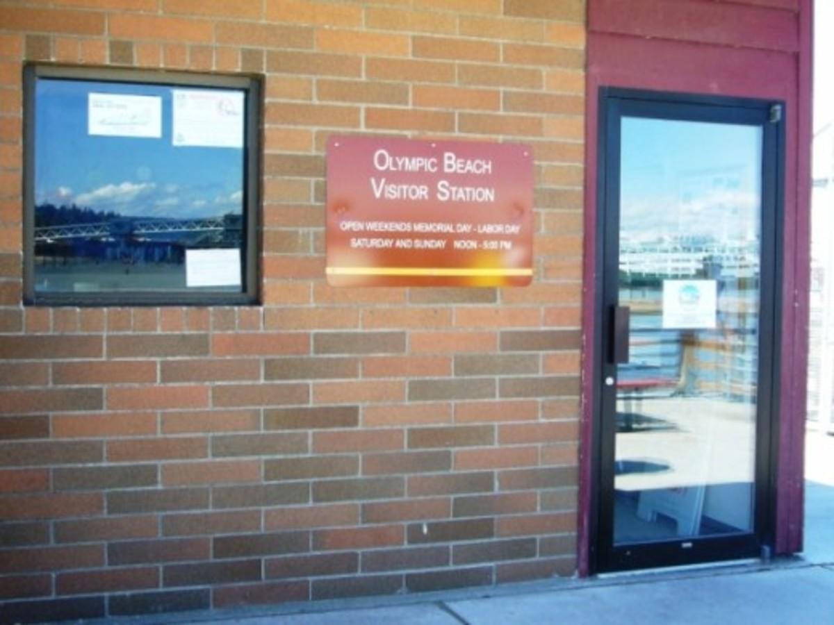 Edmonds Beach Ranger Visitor Center