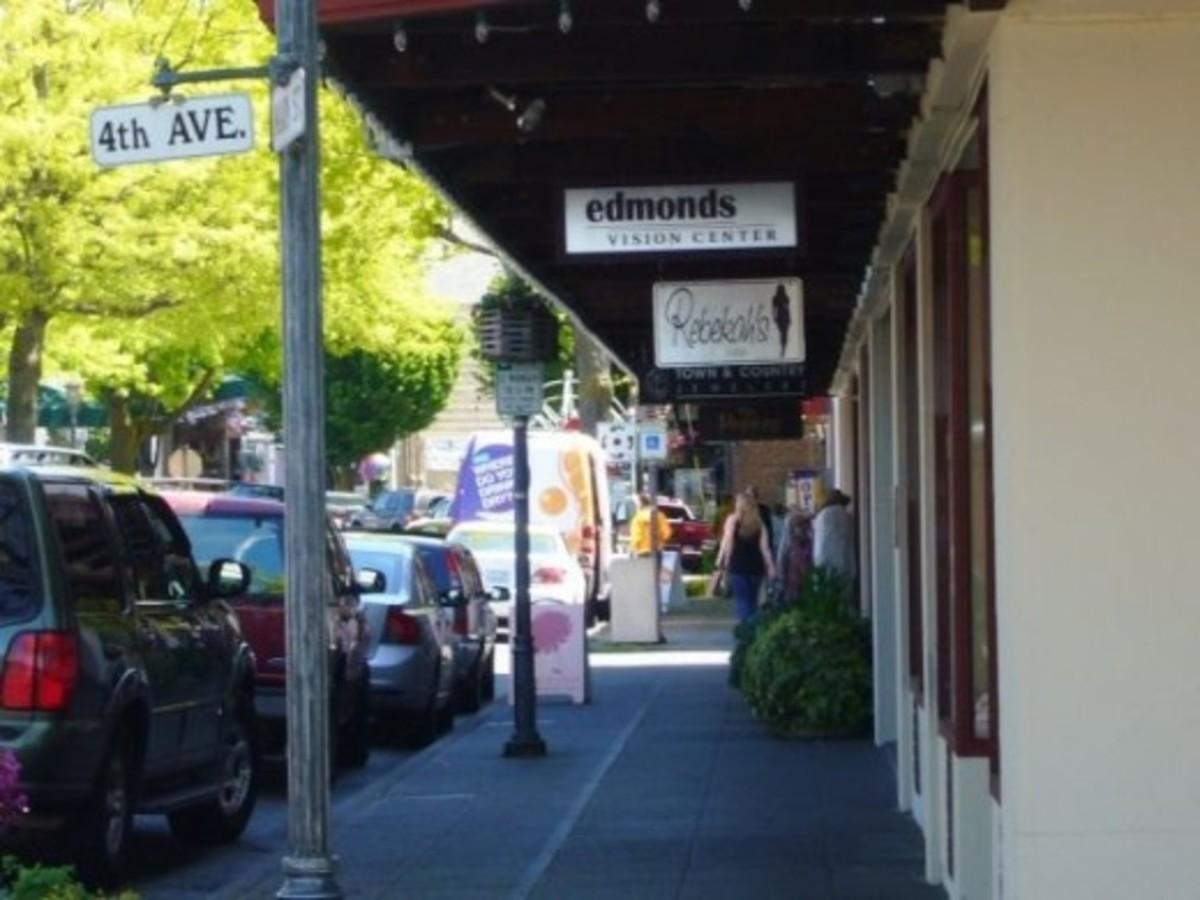 Edmonds Washington Main Street