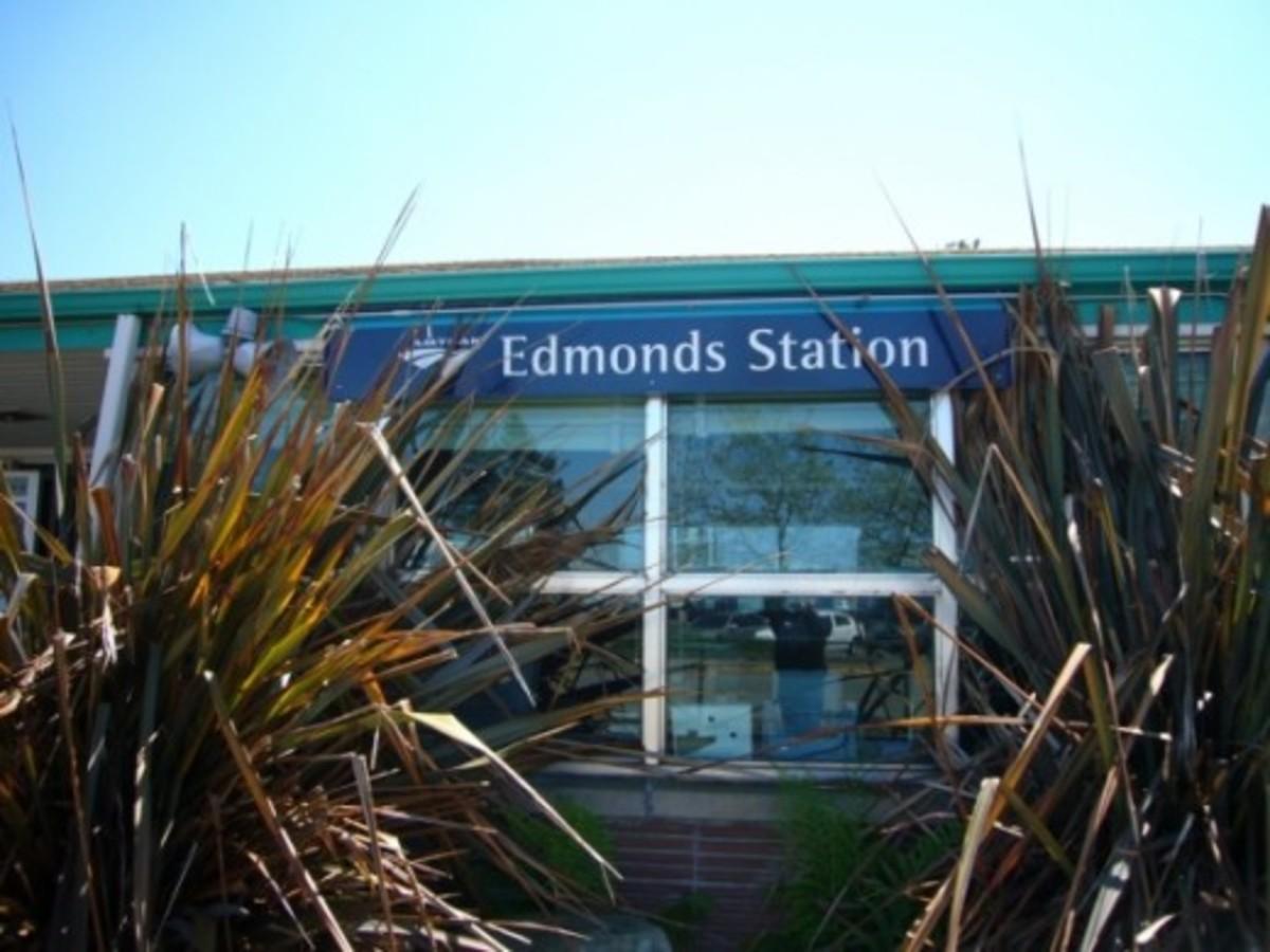 Amtrak Station - Edmonds, WA