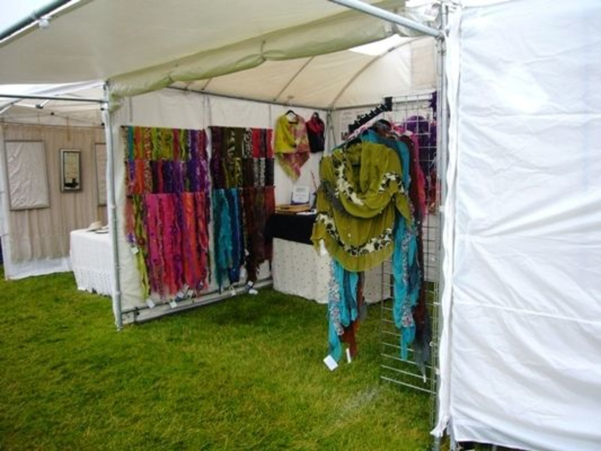 Handmade Clothing at the Edmonds Arts Festival 2011