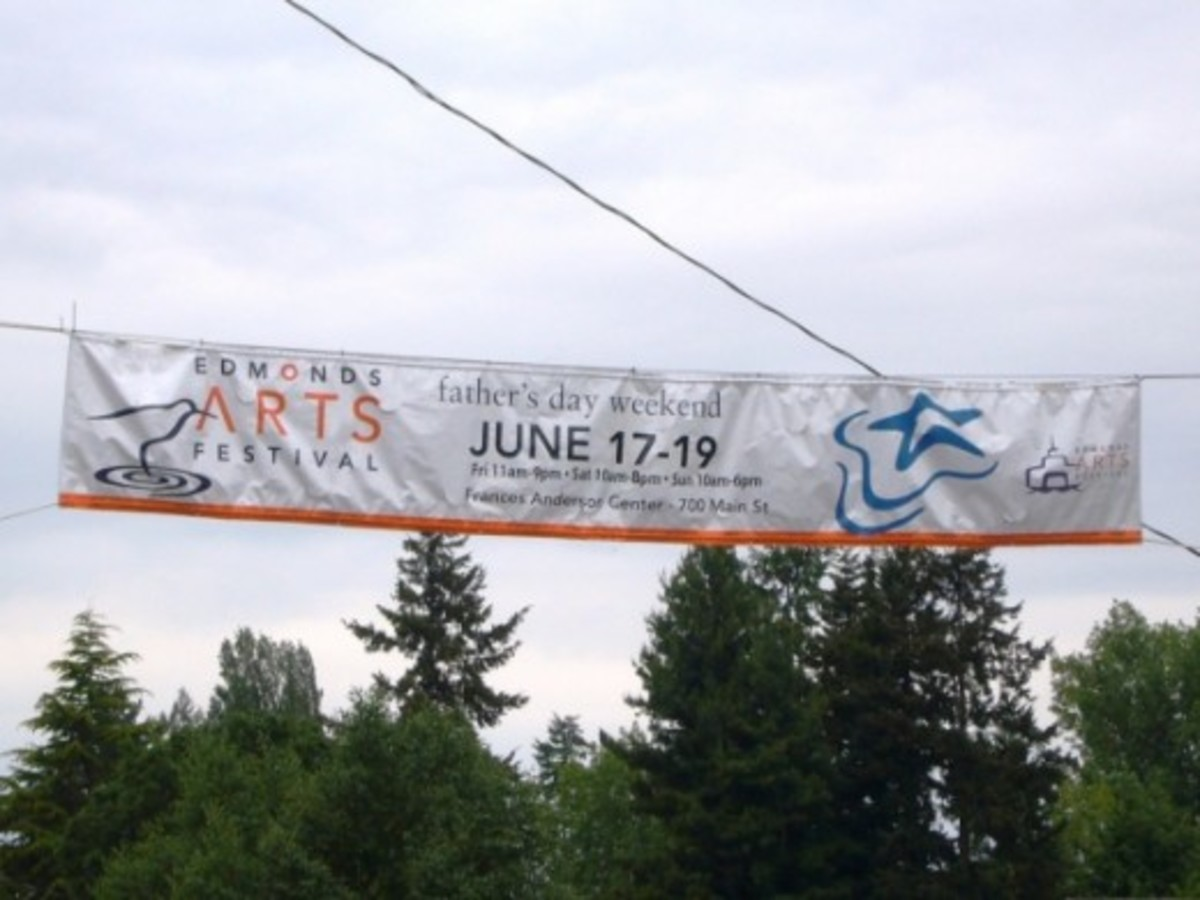 Edmonds Art Festival Banner - Edmonds, WA