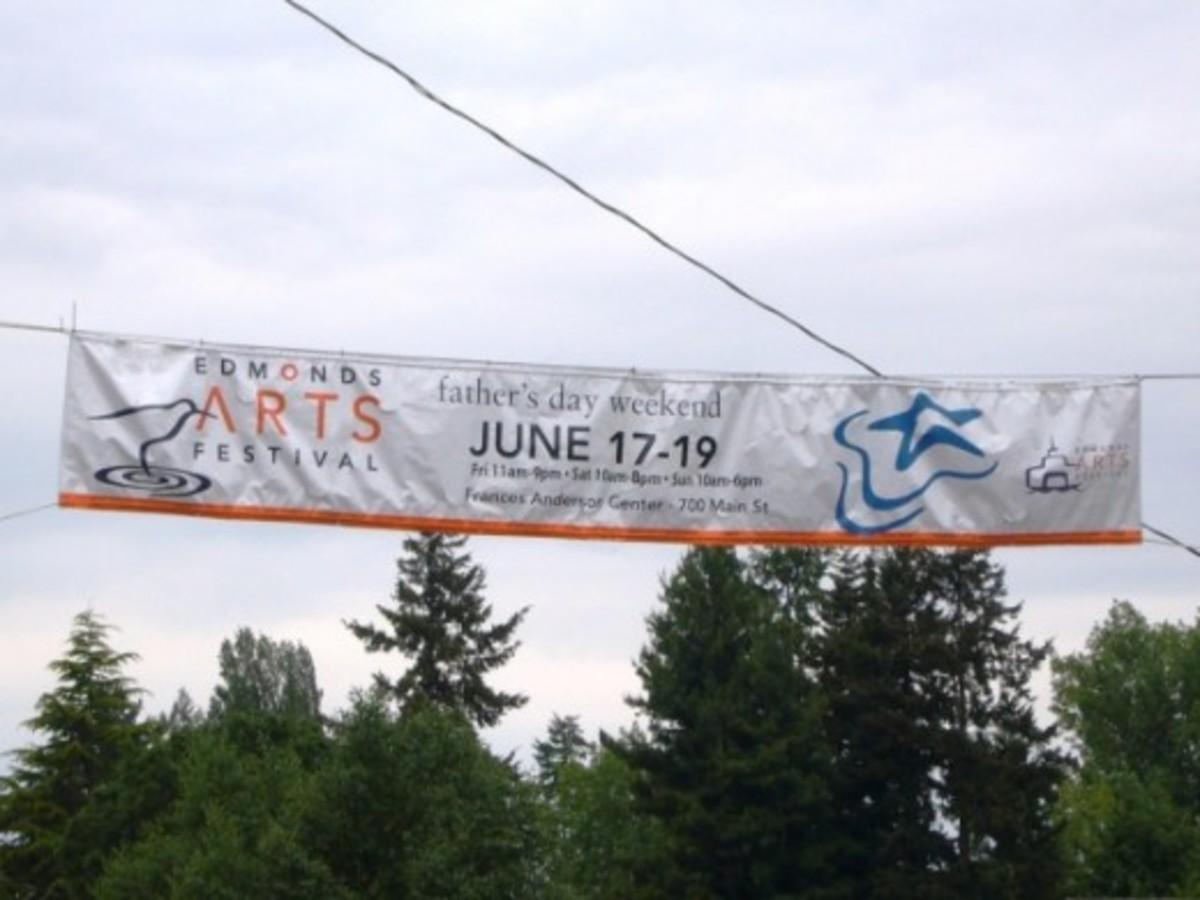 Edmonds Art Festival Banner - Edmonds, WA