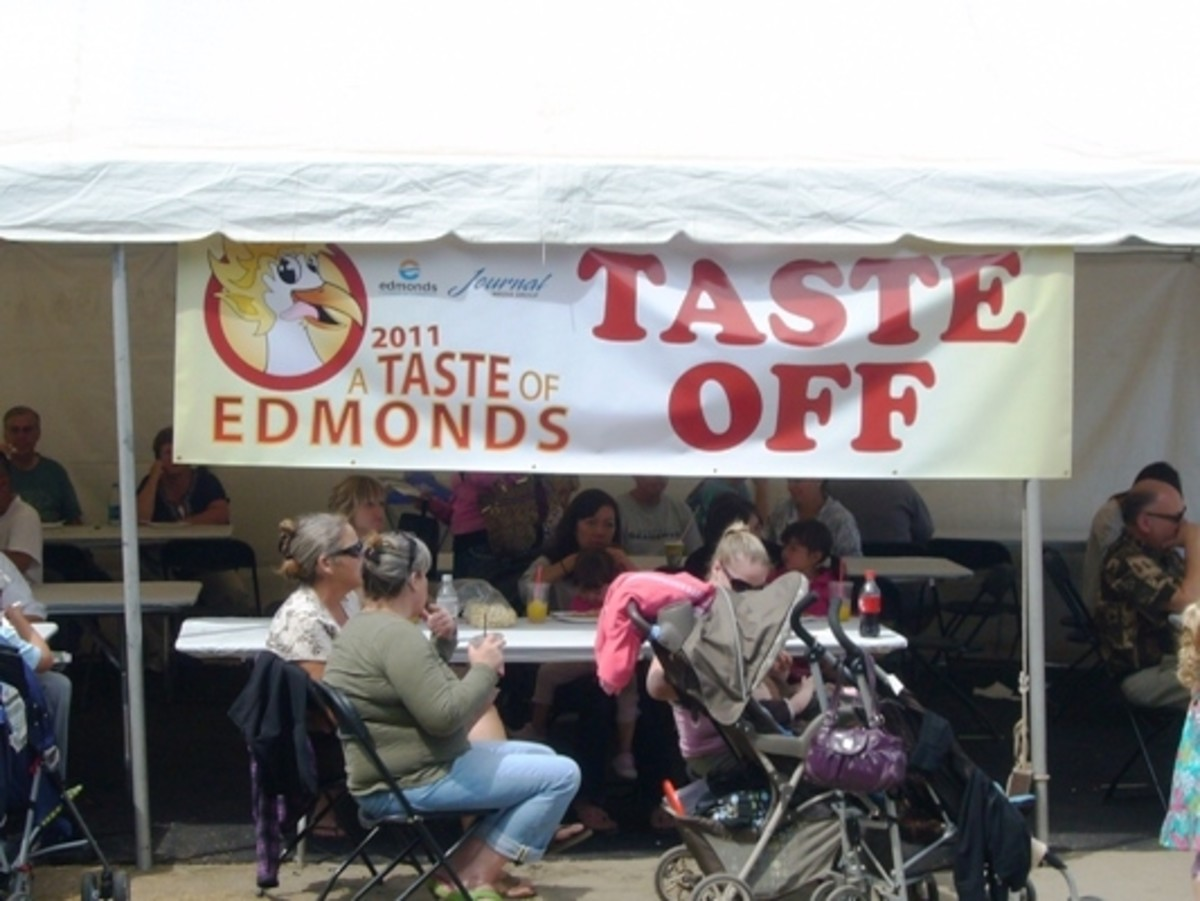 Taste of Edmonds Judging
