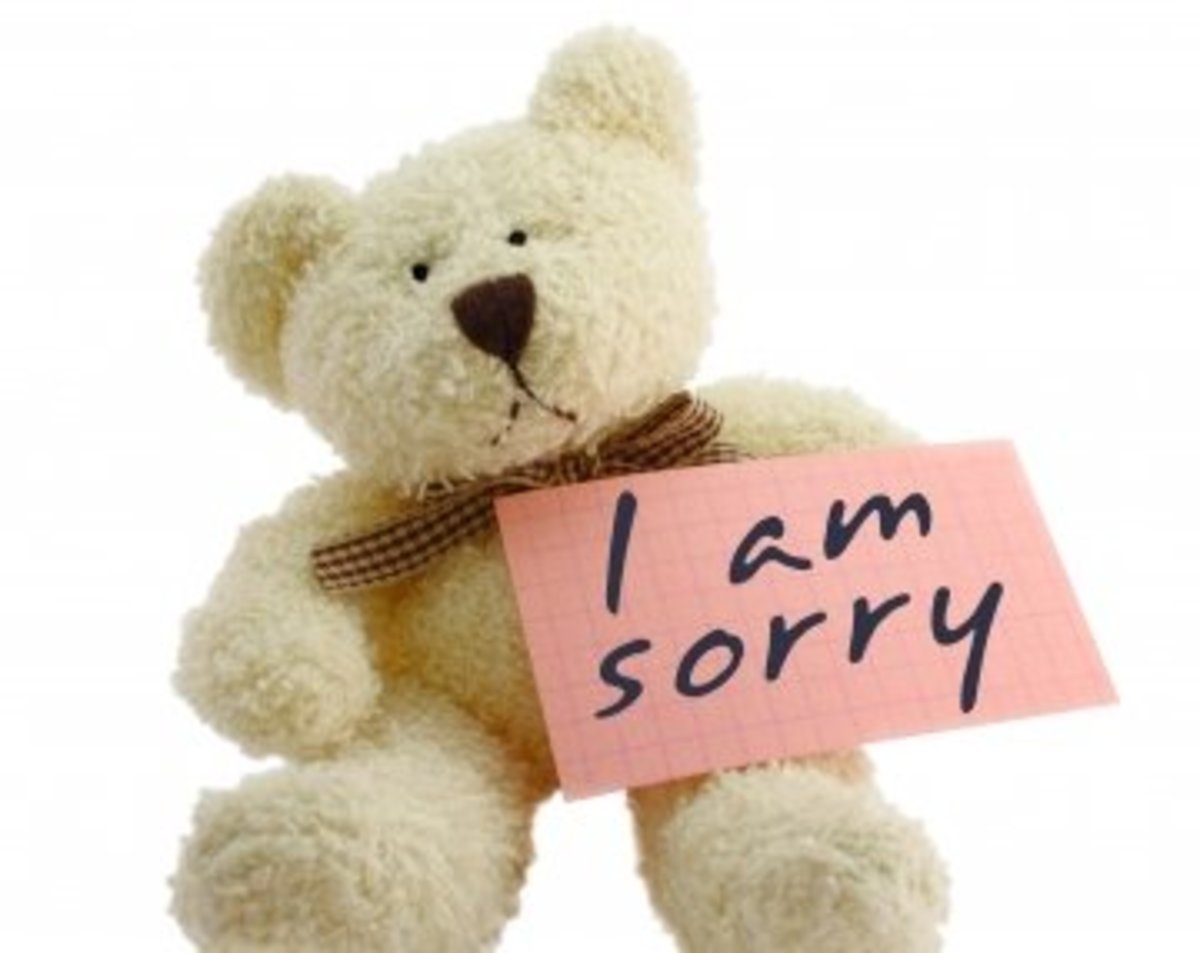 Funny ways to say I'm sorry