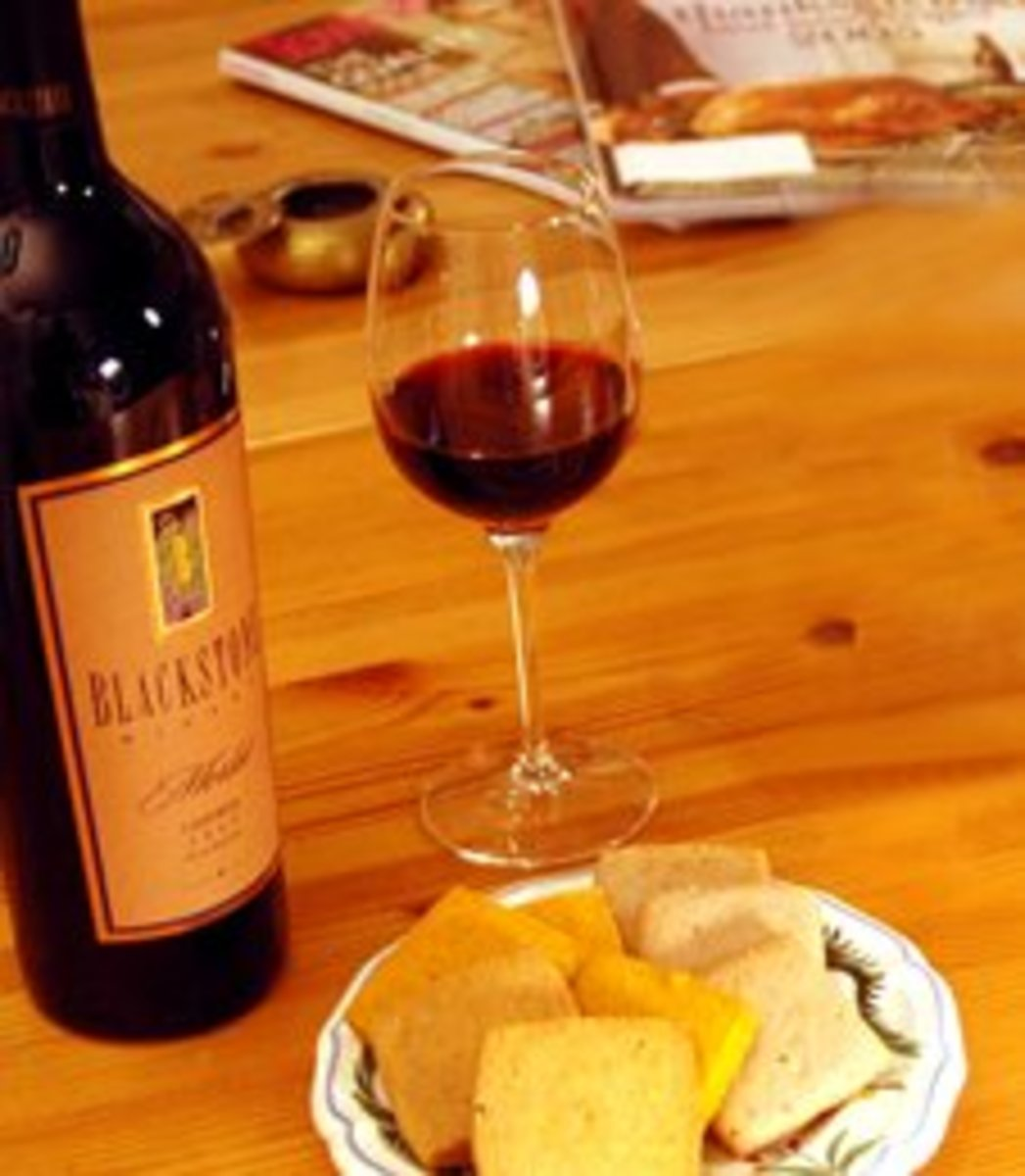 """Wine and cheese for a romantic """"I'm sorry"""" moment?"""