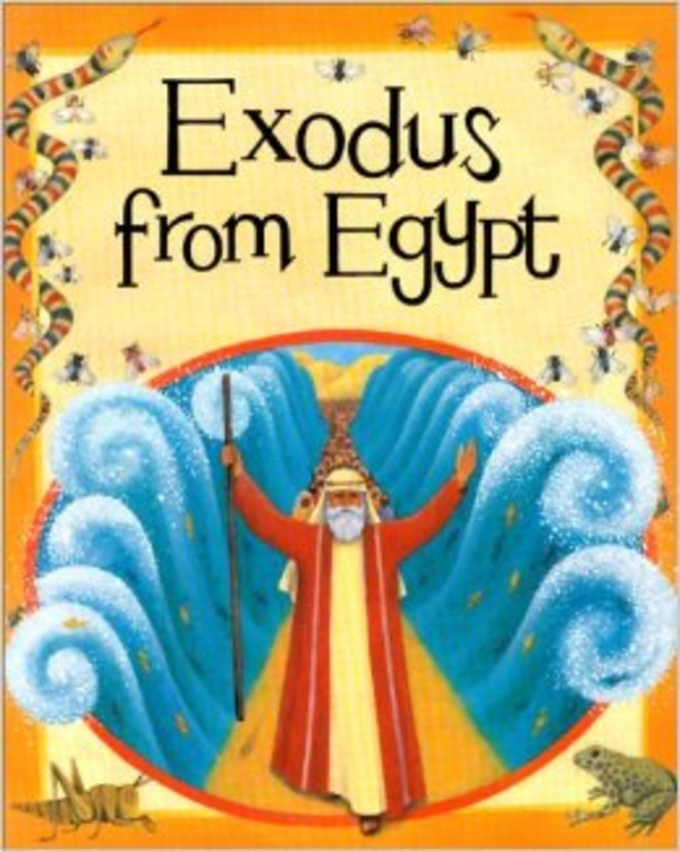 Exodus from Egypt by Mary Auld