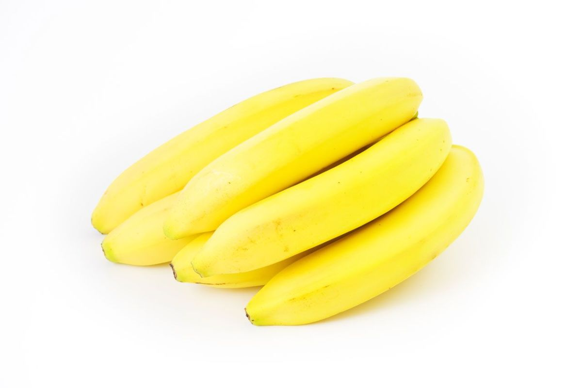 Ripe Yellow Bananas