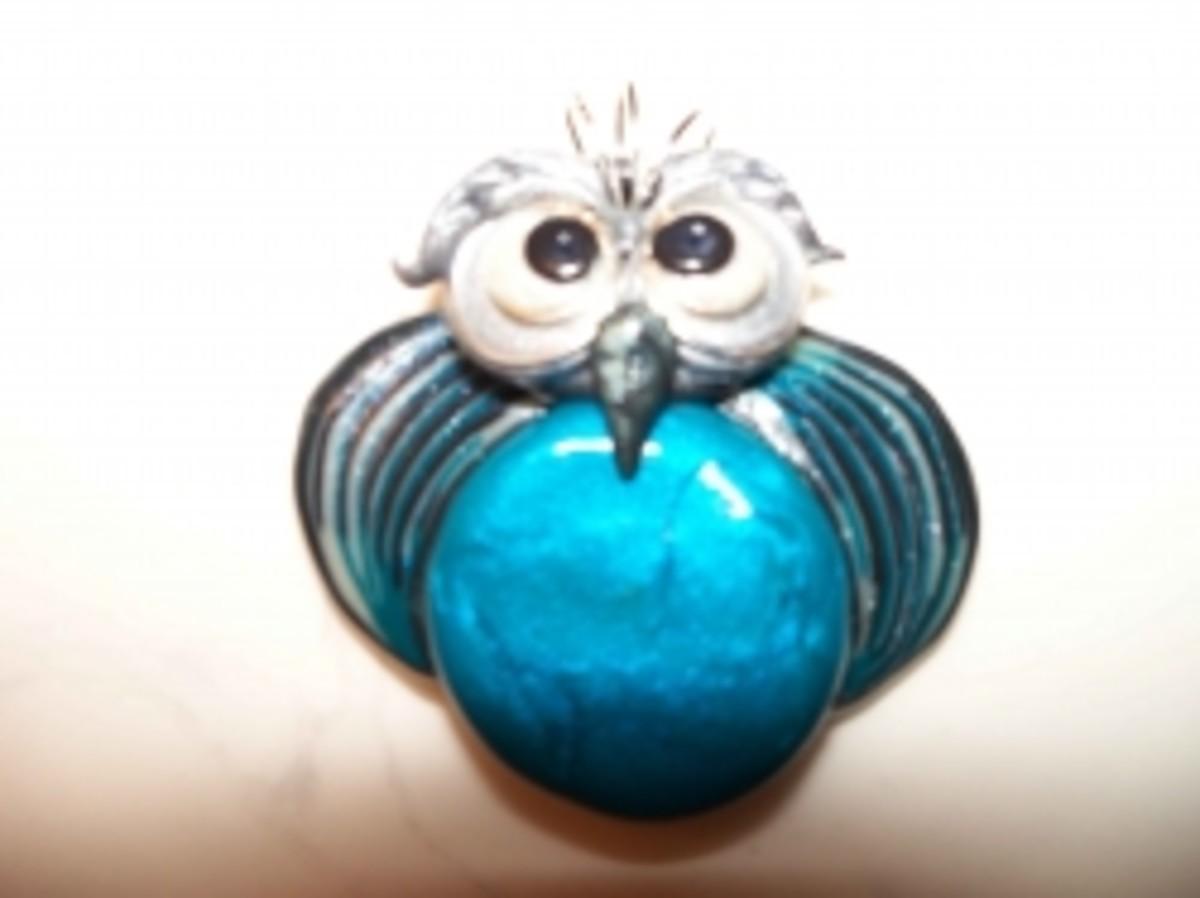 Jewelry for kids - owl