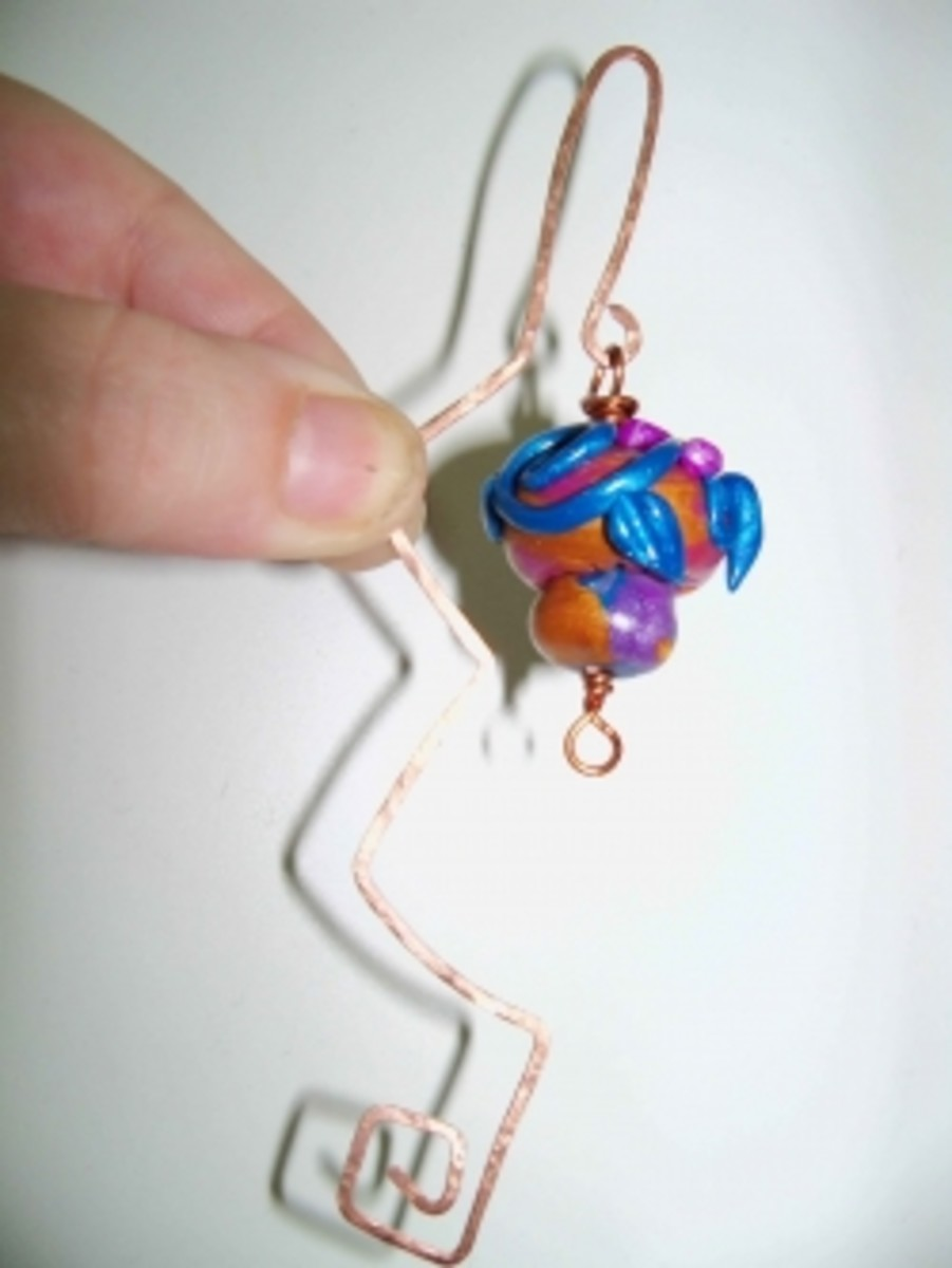 Jewelry For Kids - Copper Bookmarks