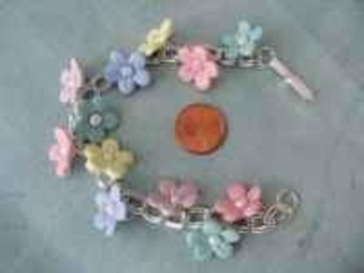 Jewelry for kids - bracelet Easter