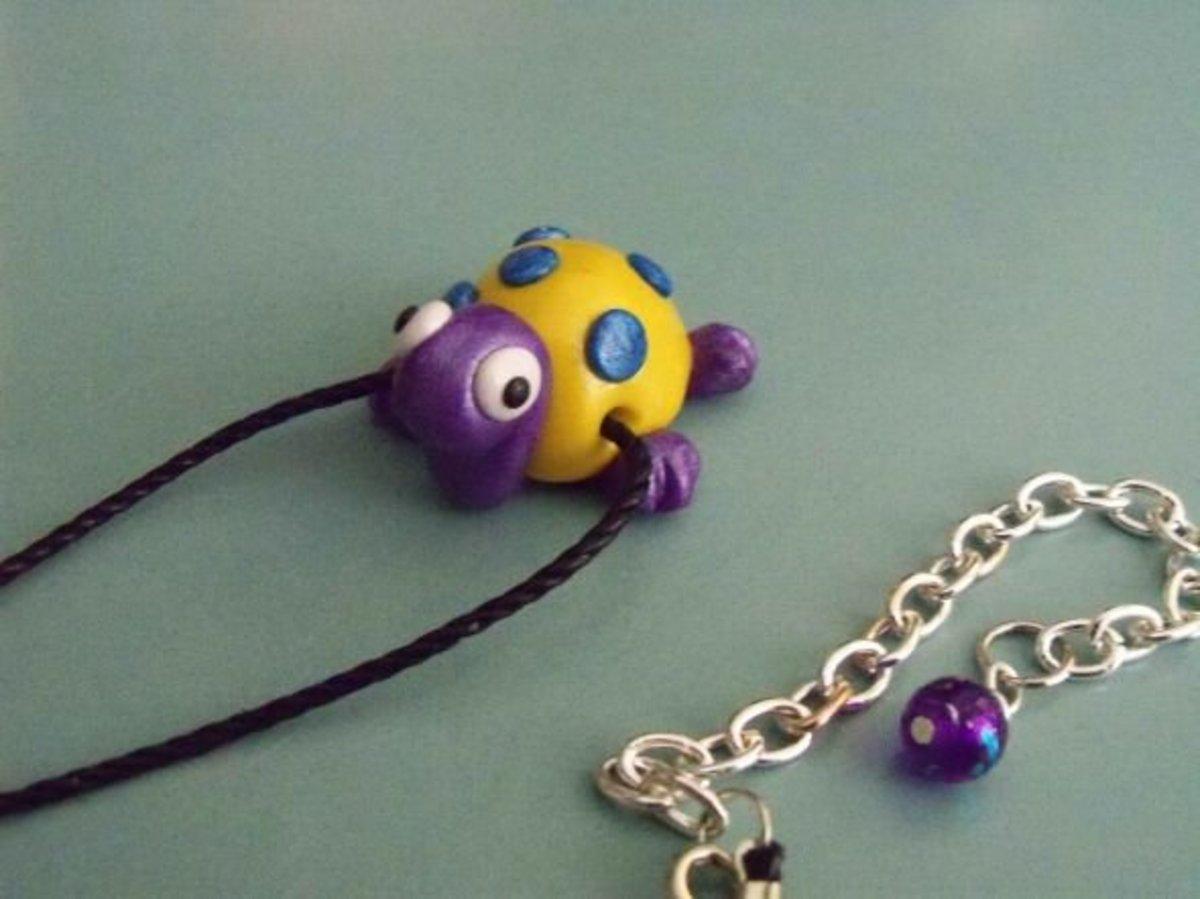 Jewelry for Kids - Purple Turtle