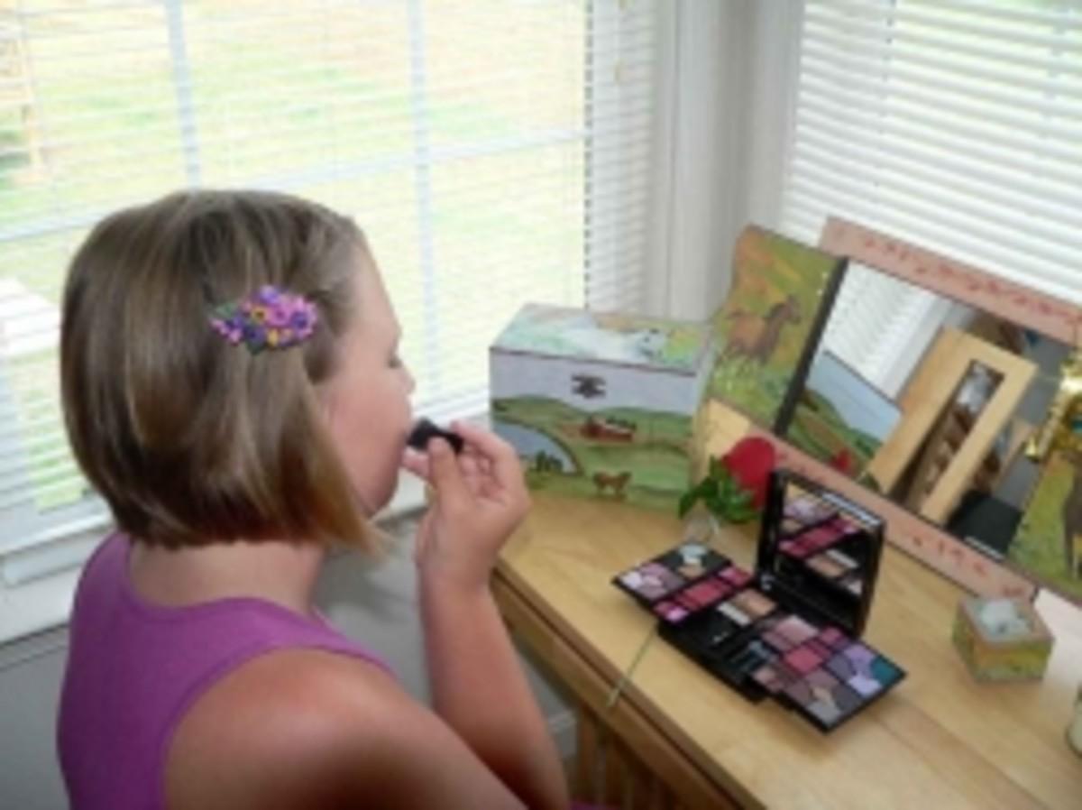 Jewelry For Kids - Purple Flower Barrette