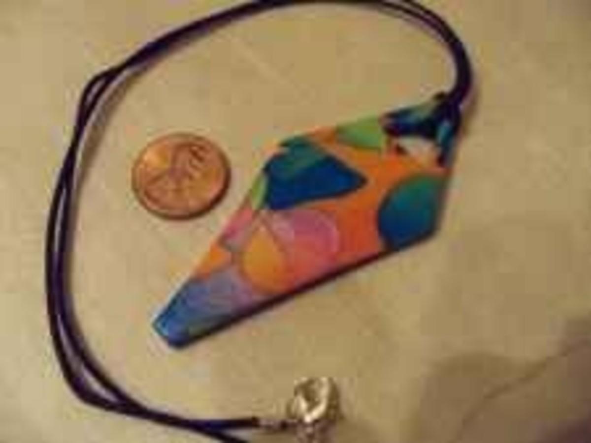 Jewelry for kids - polymer pendants