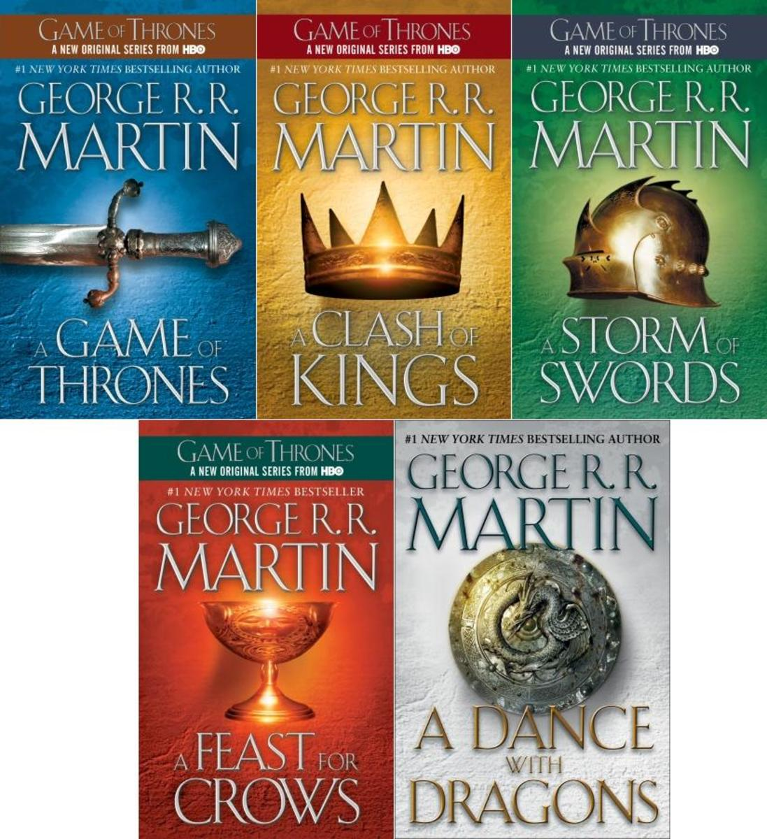 Covers from A Song of Ice and Fire